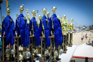 Beach soccer tournament trophies in Wisconsin